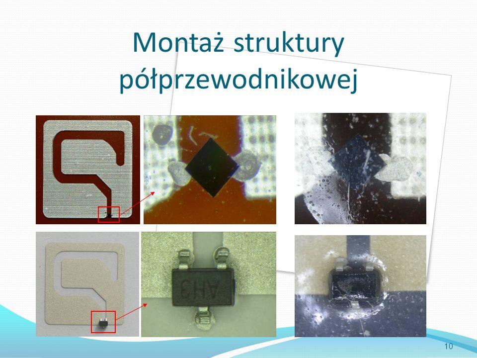 Montaż struktury półprzewodnikowej