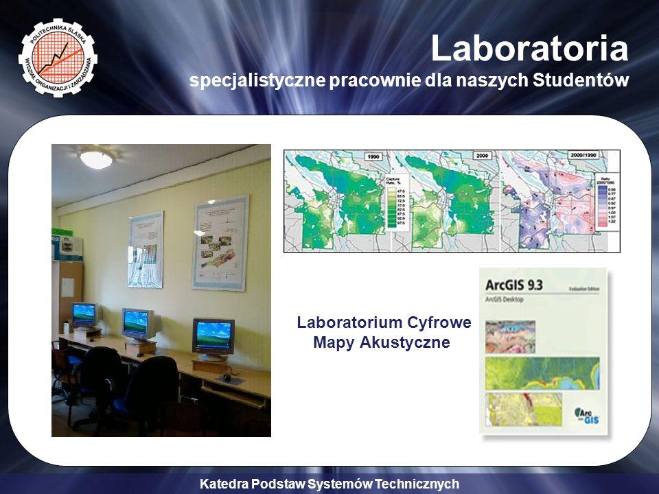 Laboratoria specjalistyczne pracownie dla naszych Studentów