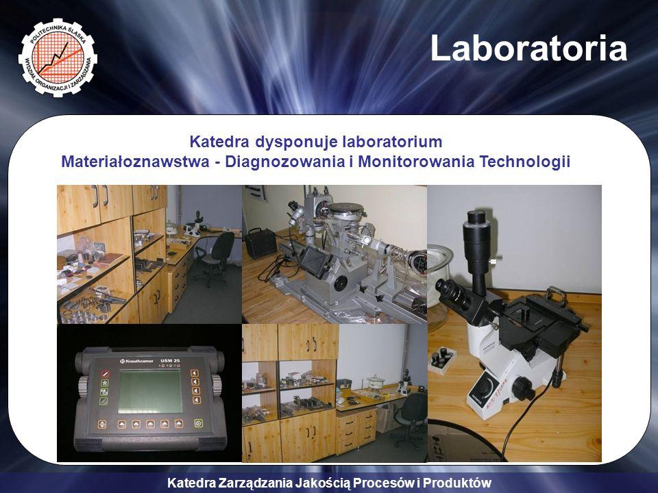 Laboratoria Katedra dysponuje laboratorium