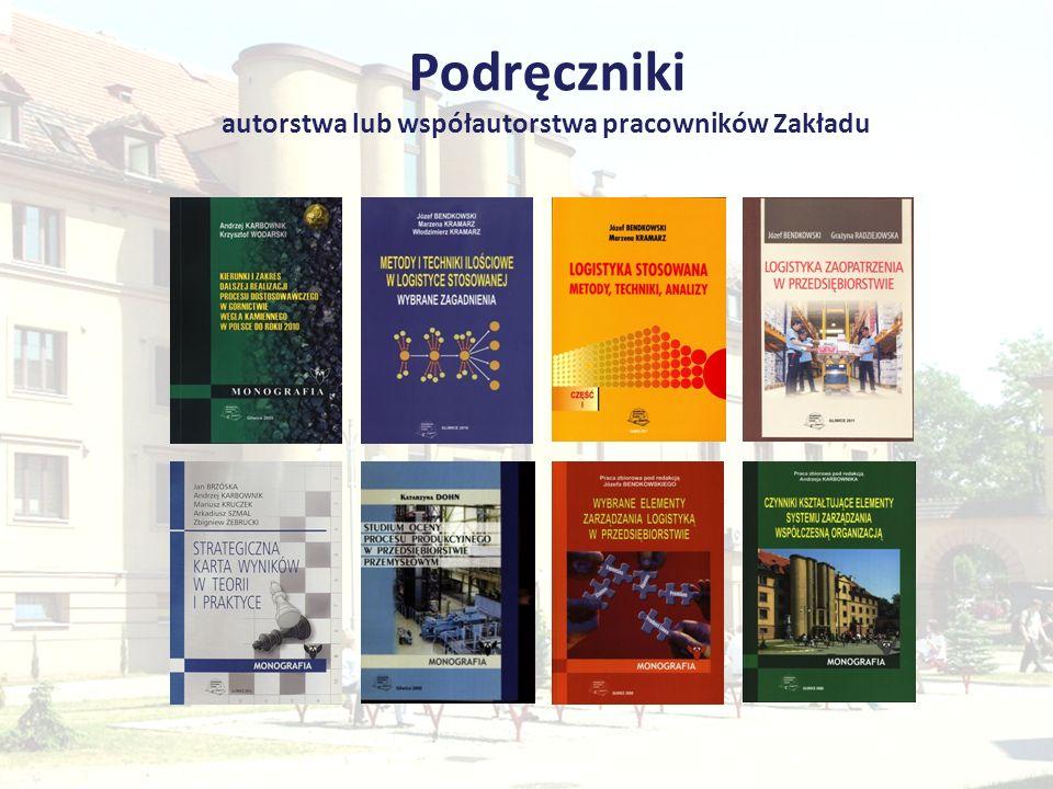 Podręczniki autorstwa lub współautorstwa pracowników Zakładu