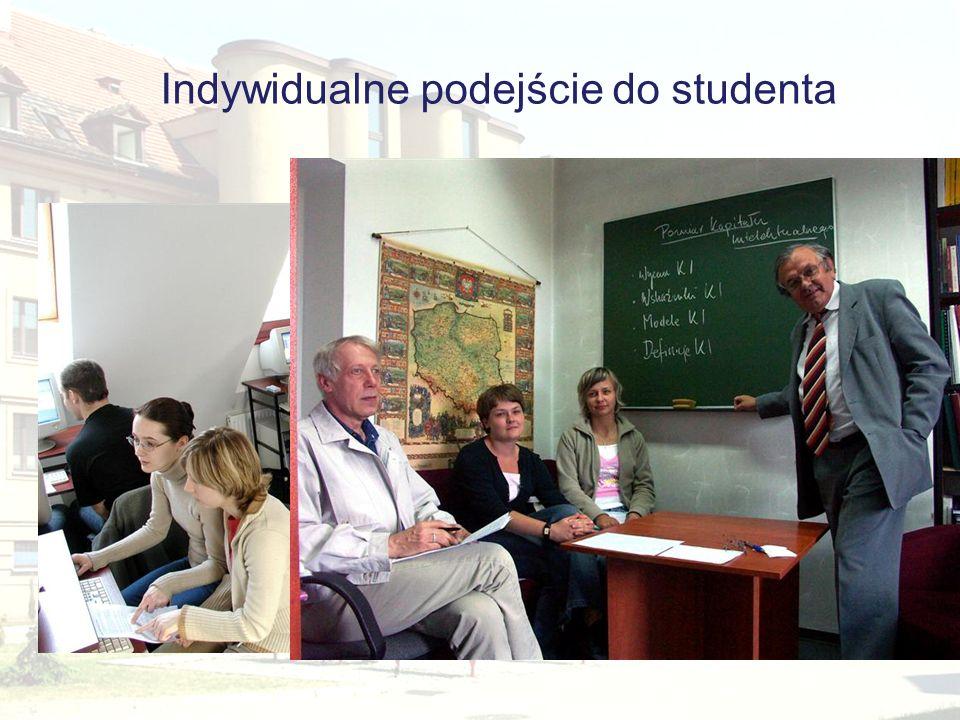 Indywidualne podejście do studenta
