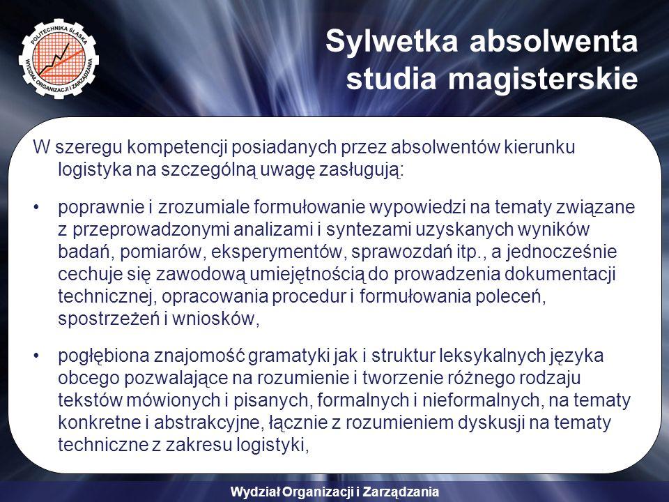 Sylwetka absolwenta studia magisterskie
