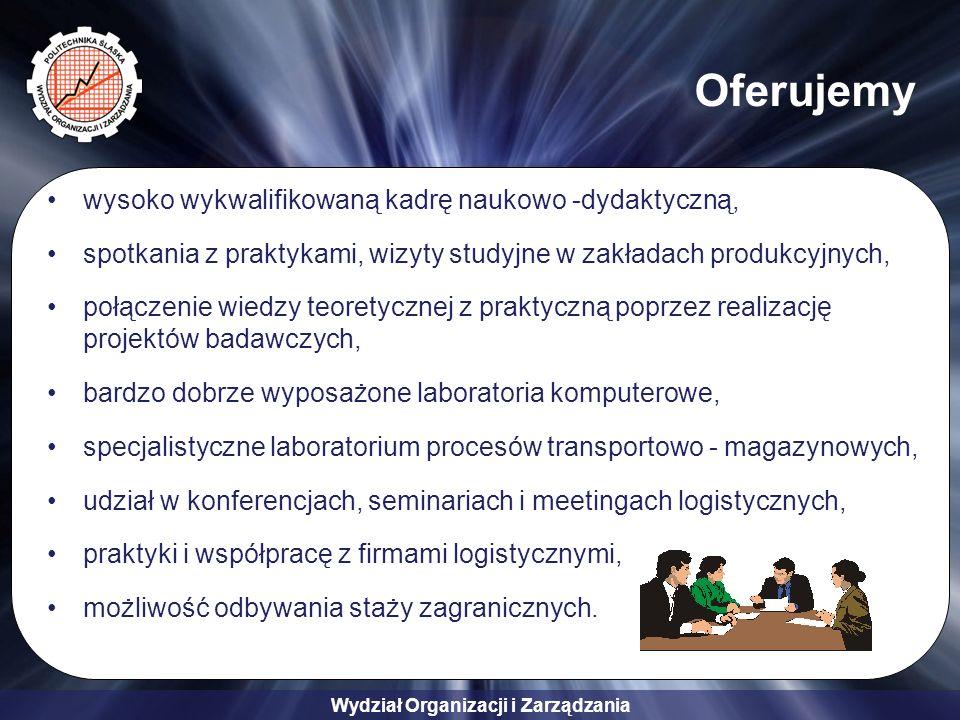 Oferujemy wysoko wykwalifikowaną kadrę naukowo -dydaktyczną,