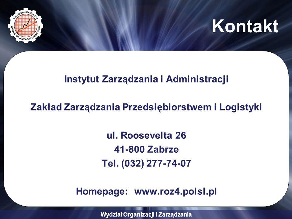 Kontakt Instytut Zarządzania i Administracji
