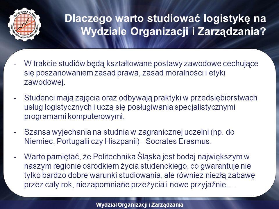 Dlaczego warto studiować logistykę na Wydziale Organizacji i Zarządzania