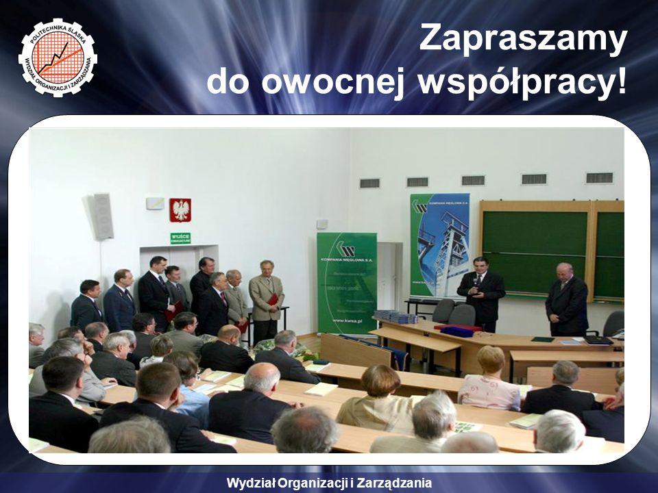 Zapraszamy do owocnej współpracy!