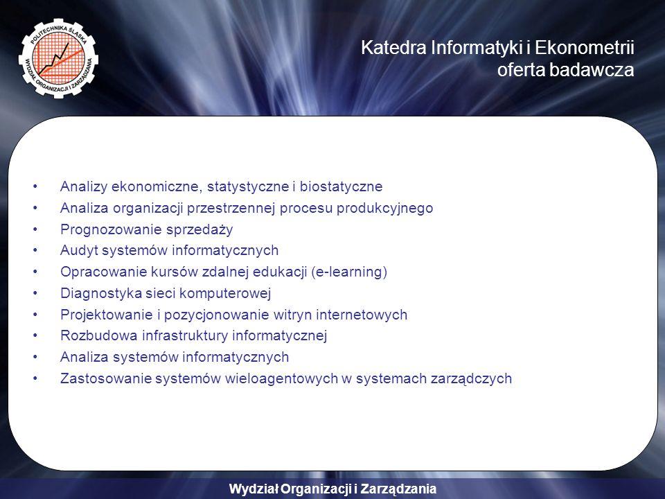 Katedra Informatyki i Ekonometrii oferta badawcza