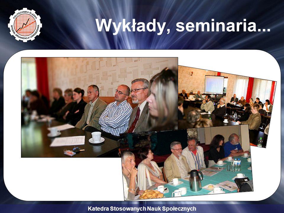 Wykłady, seminaria...