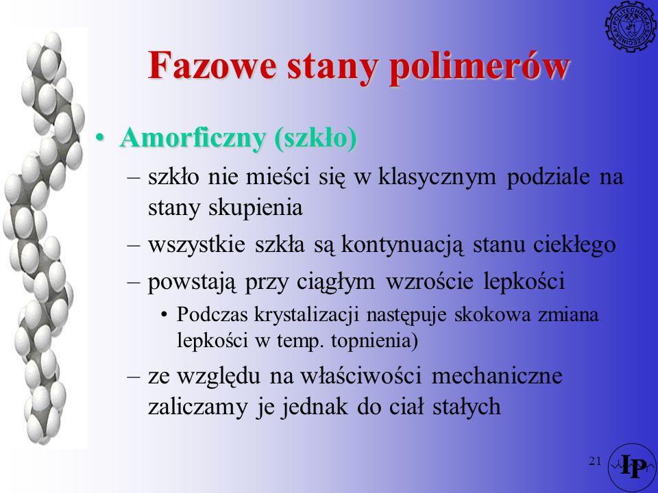 Fazowe stany polimerów