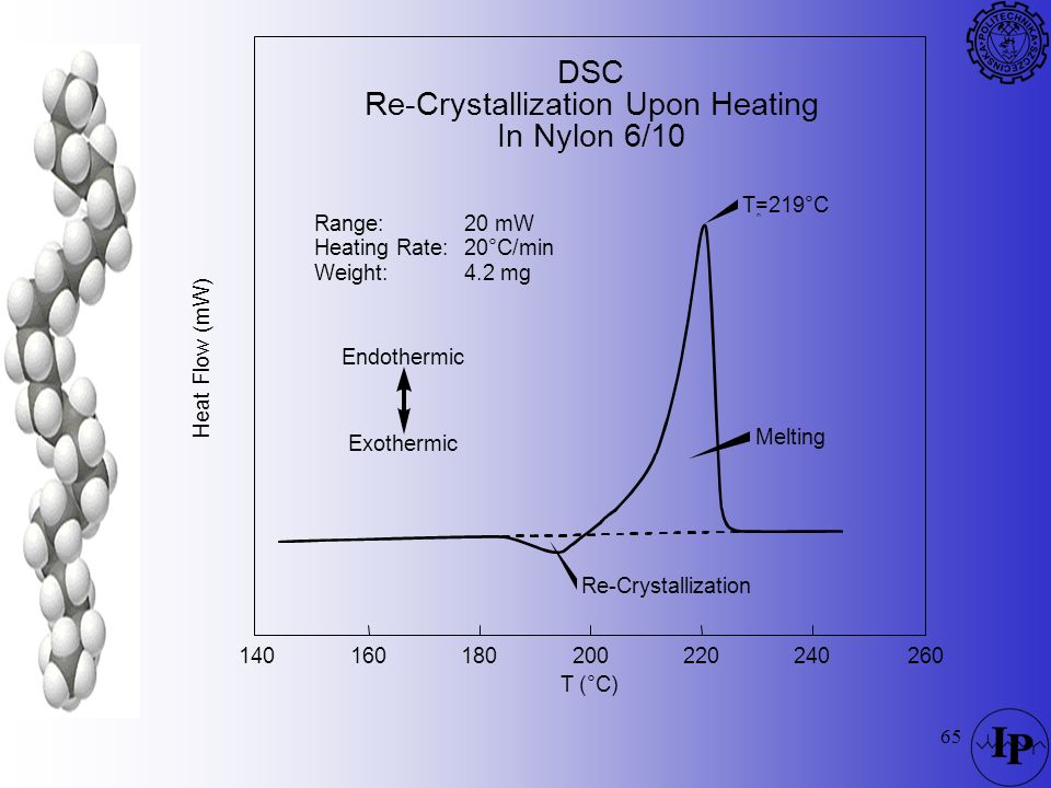 Re-Crystallization Upon Heating In Nylon 6/10