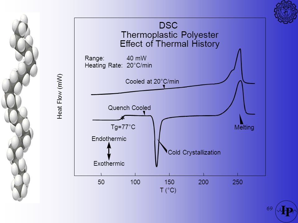 Thermoplastic Polyester Effect of Thermal History