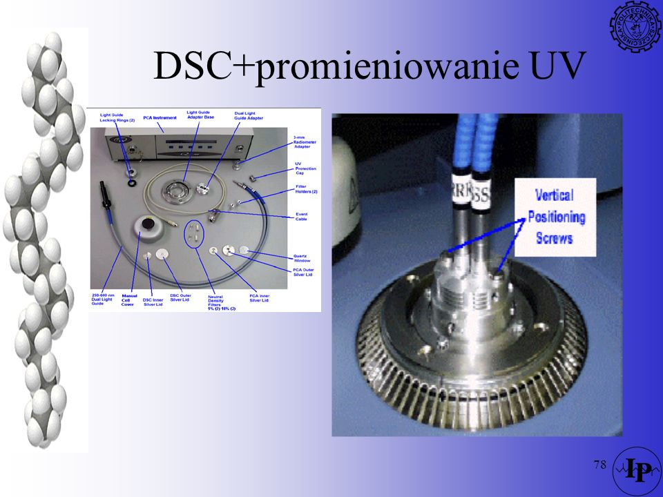 DSC+promieniowanie UV