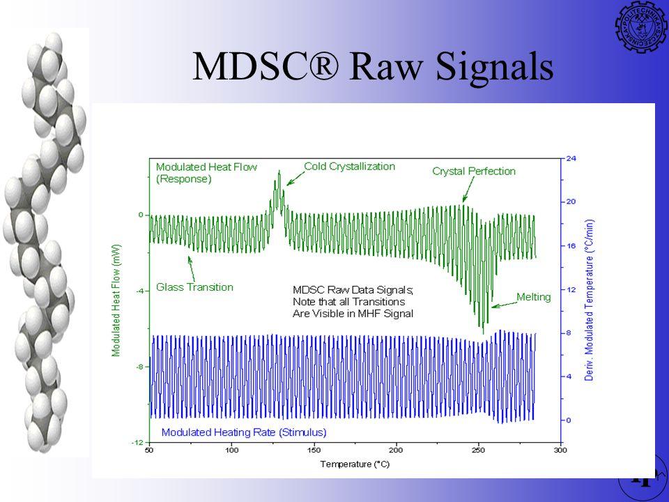 MDSC® Raw Signals