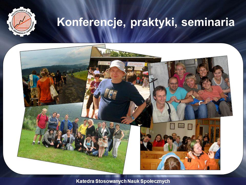 Konferencje, praktyki, seminaria
