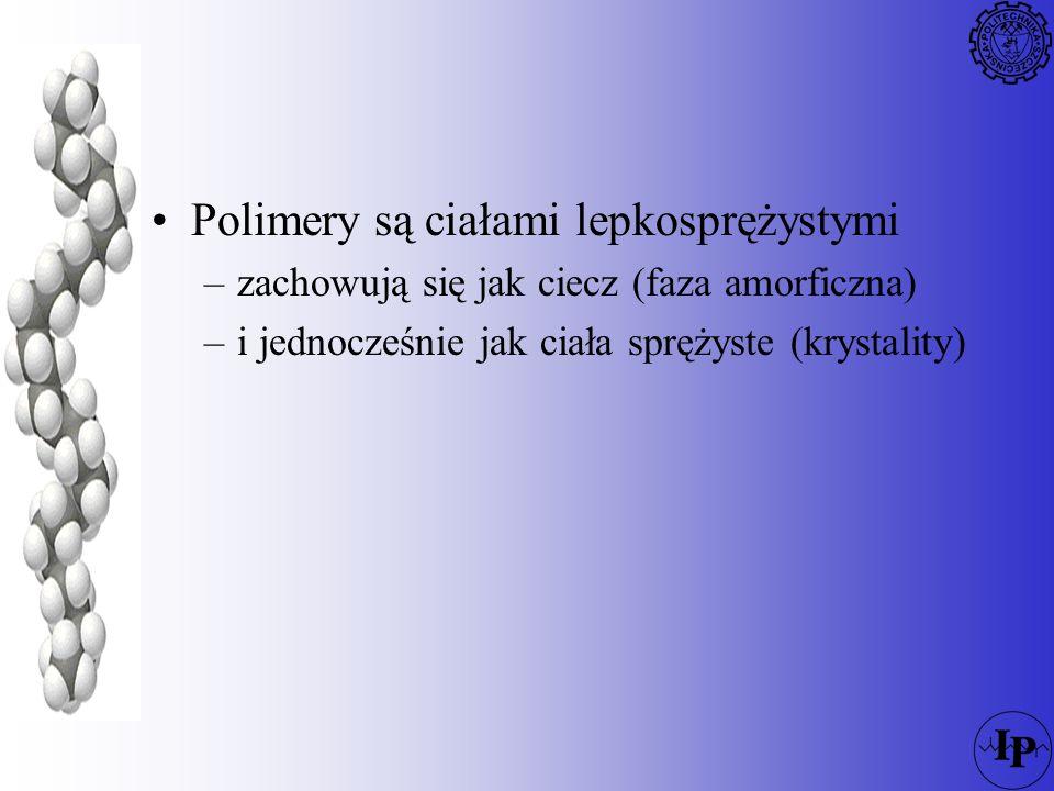 Polimery są ciałami lepkosprężystymi