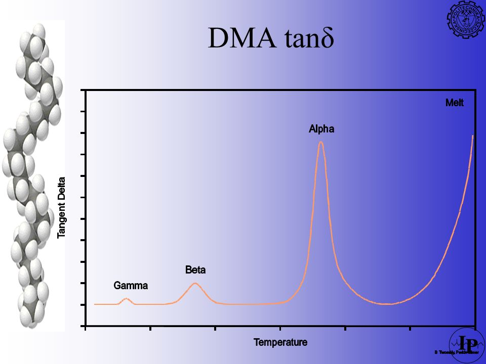 DMA tanδ REFERENCE: