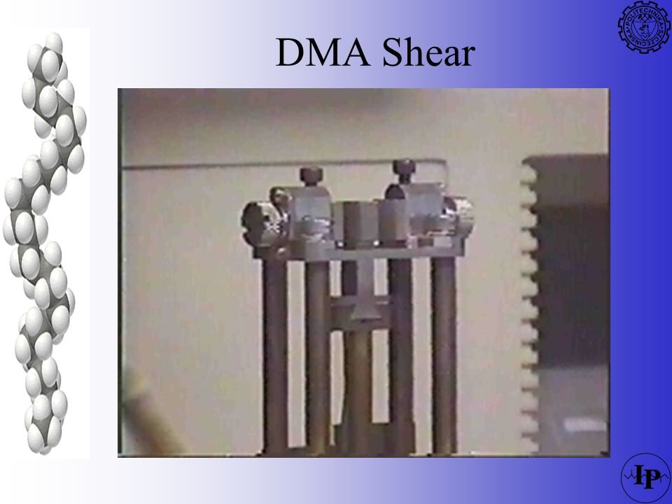 DMA Shear REFERENCE: Extension/tension measuring systems are available in both stainless steel and quartz, depending on the application.