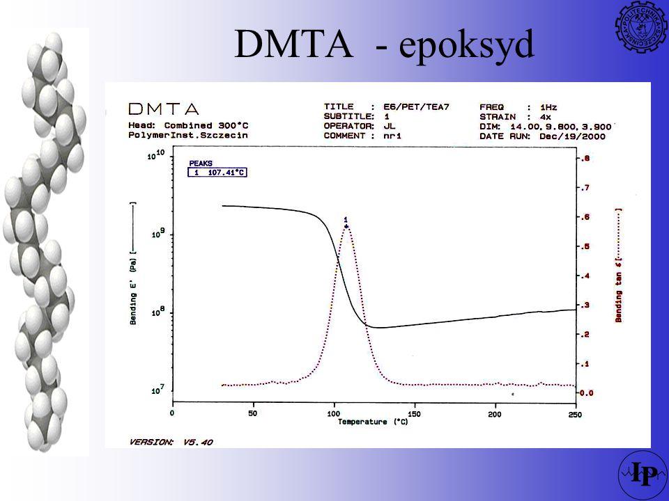 DMTA - epoksyd