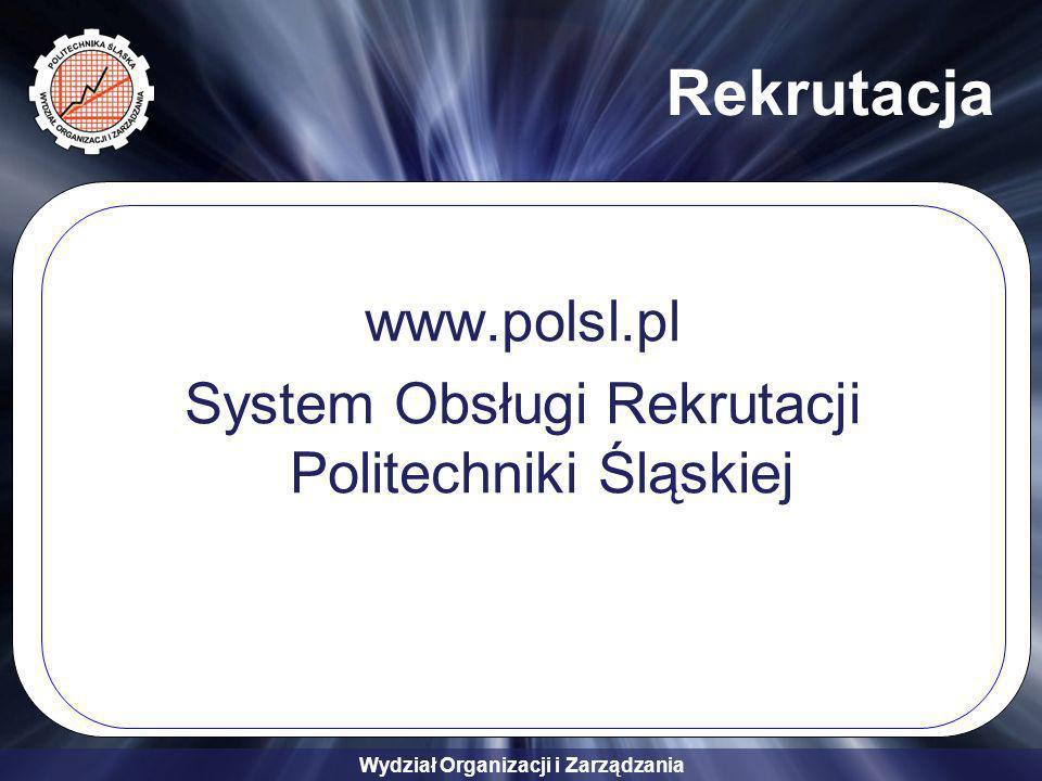 System Obsługi Rekrutacji Politechniki Śląskiej