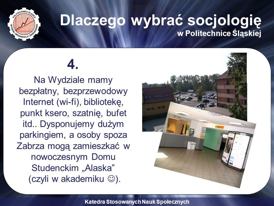 Dlaczego wybrać socjologię w Politechnice Śląskiej
