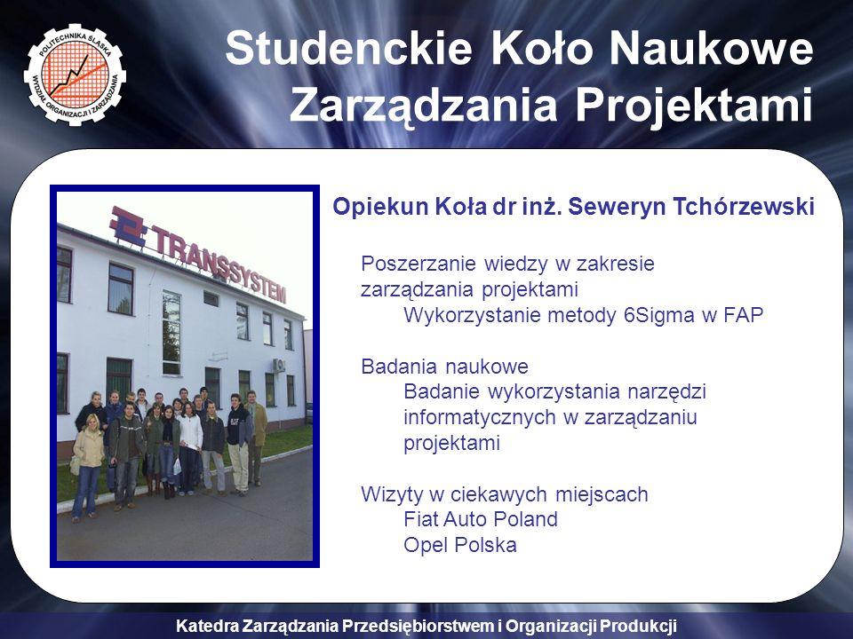 Studenckie Koło Naukowe Zarządzania Projektami