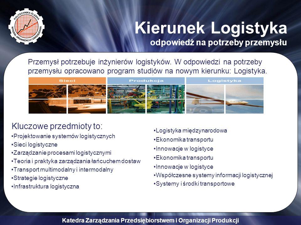 Kierunek Logistyka odpowiedź na potrzeby przemysłu