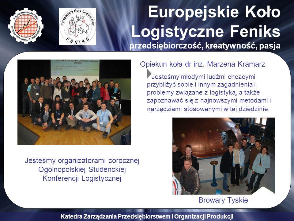 Europejskie Koło Logistyczne Feniks przedsiębiorczość, kreatywność, pasja