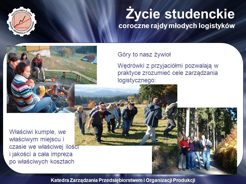 Życie studenckie coroczne rajdy młodych logistyków