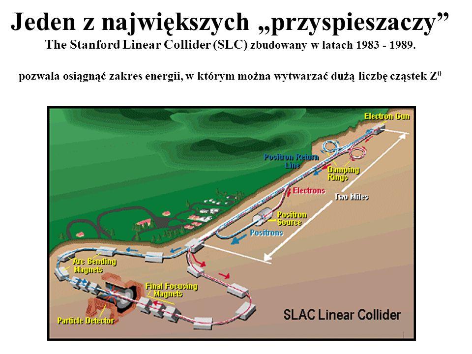"""Jeden z największych """"przyspieszaczy The Stanford Linear Collider (SLC) zbudowany w latach 1983 - 1989."""