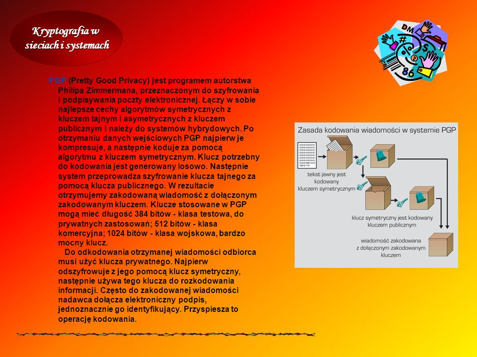 Kryptografia w sieciach i systemach