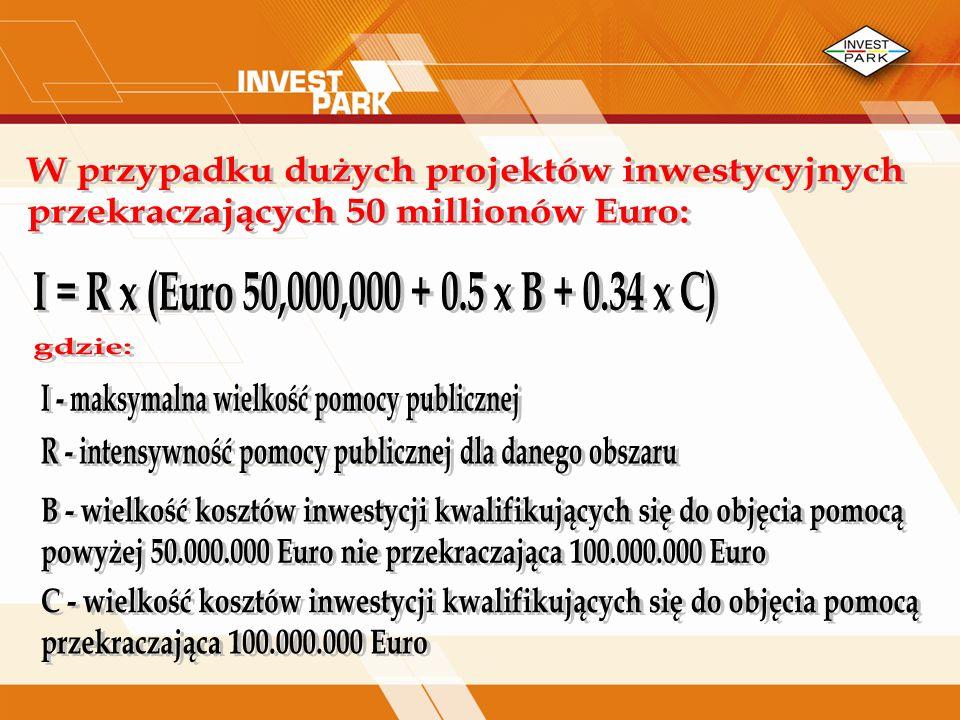 W przypadku dużych projektów inwestycyjnych