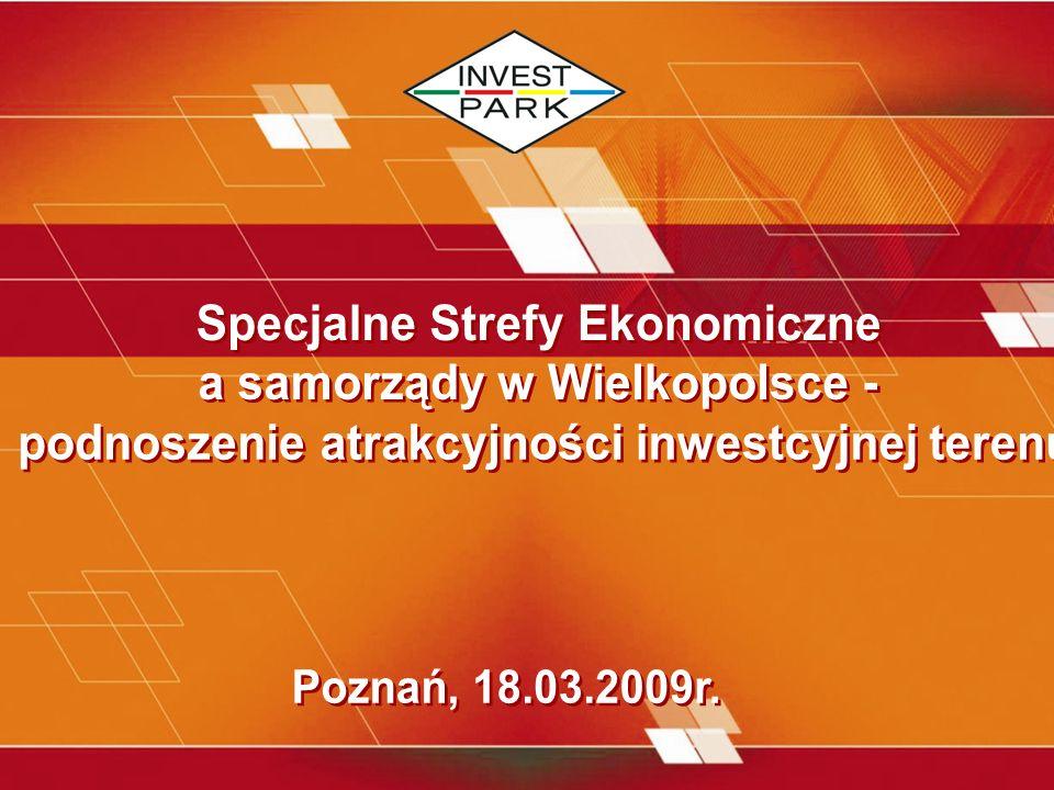 Specjalne Strefy Ekonomiczne a samorządy w Wielkopolsce -