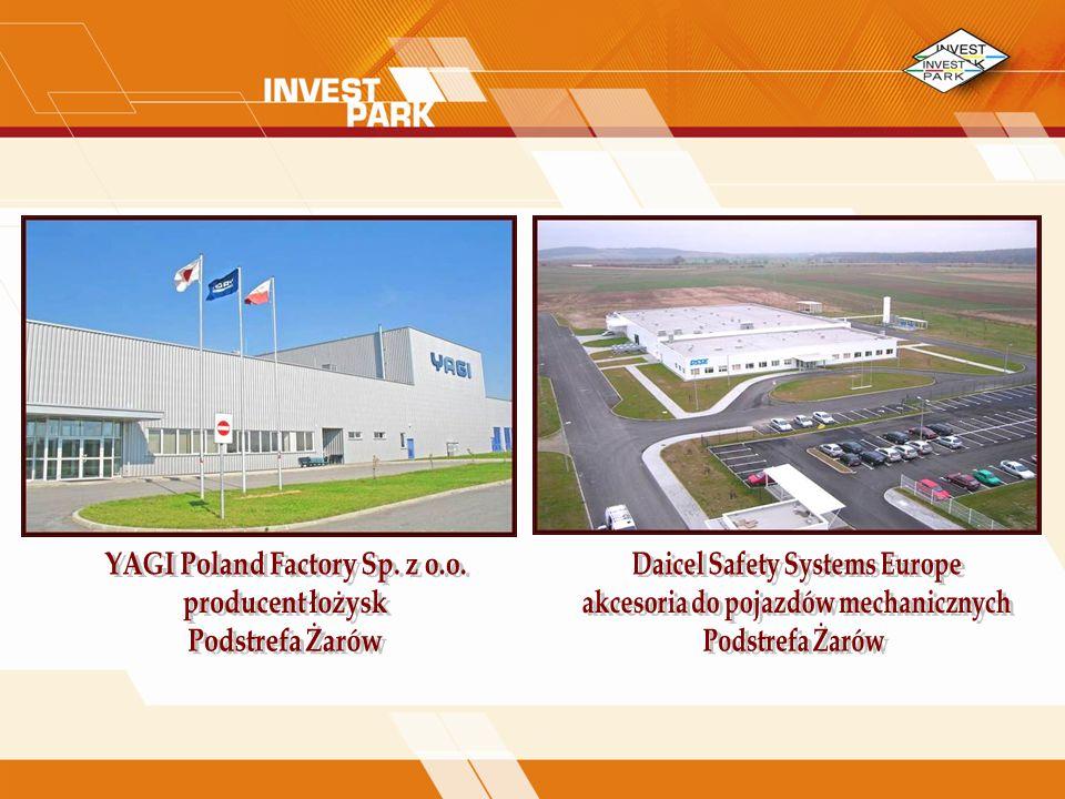 YAGI Poland Factory Sp. z o.o. producent łożysk Podstrefa Żarów