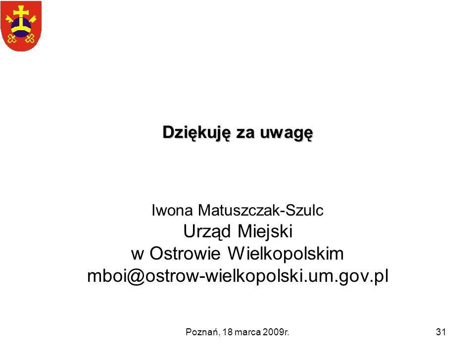 w Ostrowie Wielkopolskim mboi@ostrow-wielkopolski.um.gov.pl