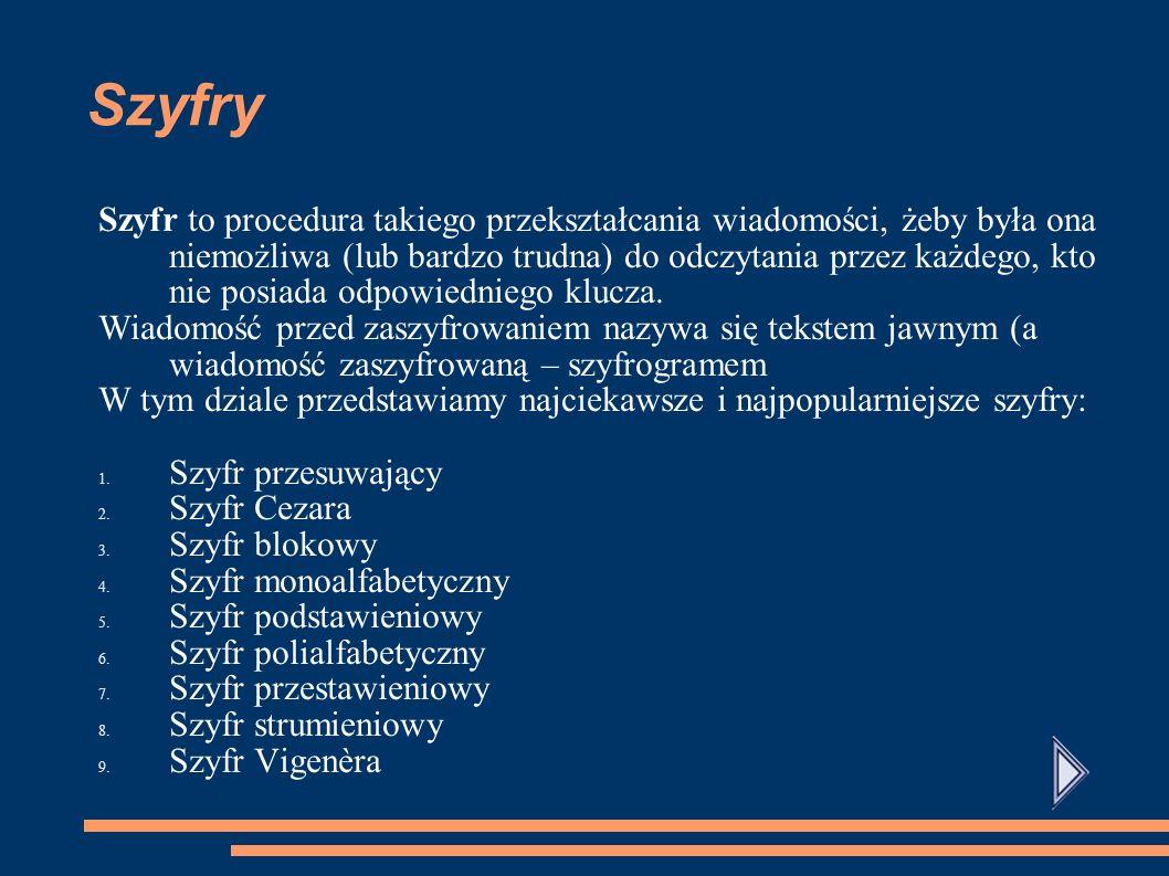 Szyfry