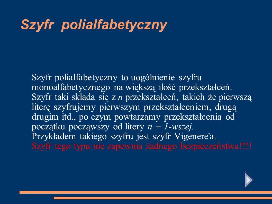 Szyfr polialfabetyczny