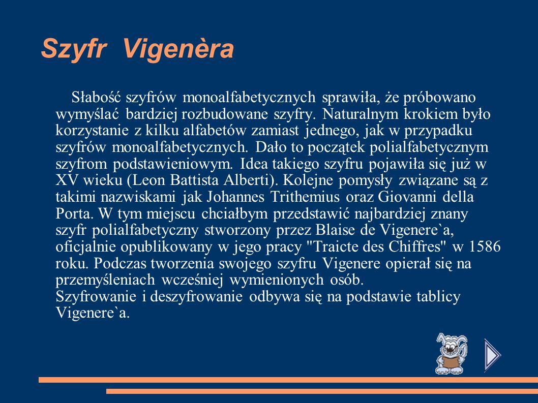 Szyfr Vigenèra