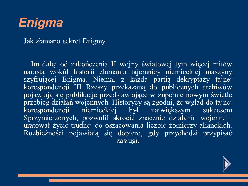 Enigma Jak złamano sekret Enigmy