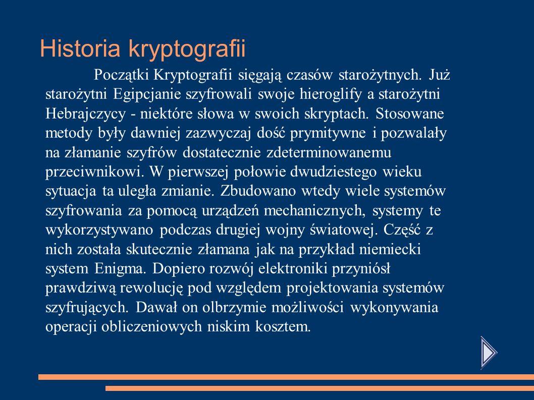 Historia kryptografii