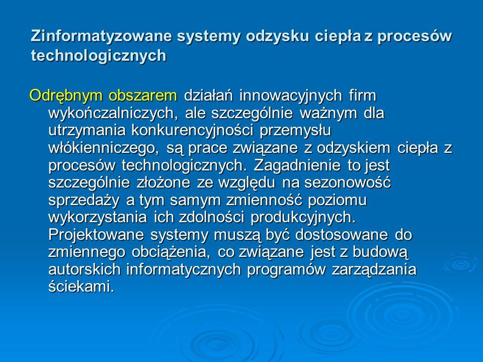 Zinformatyzowane systemy odzysku ciepła z procesów technologicznych