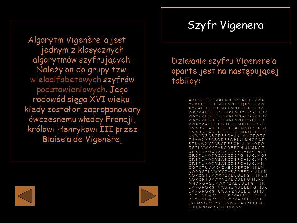 Szyfr Vigenera