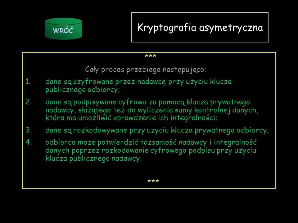 Kryptografia asymetryczna