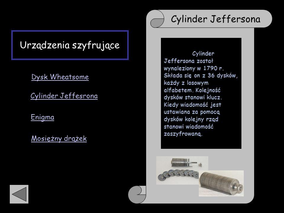 Urządzenia szyfrujące