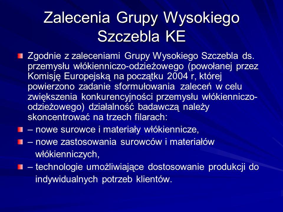 Zalecenia Grupy Wysokiego Szczebla KE
