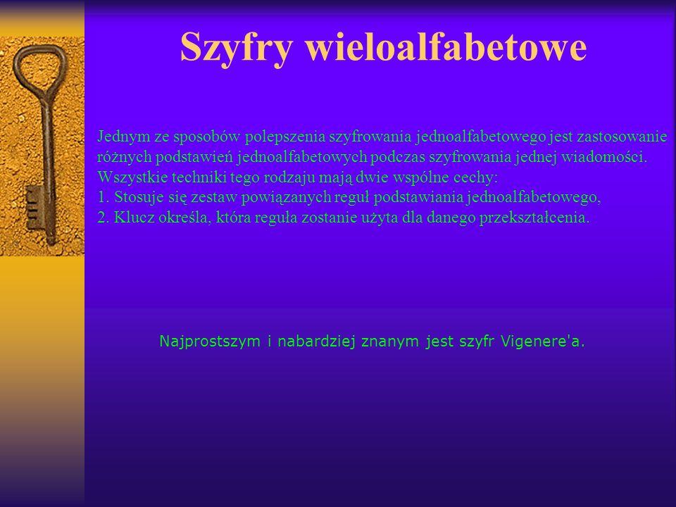 Szyfry wieloalfabetowe