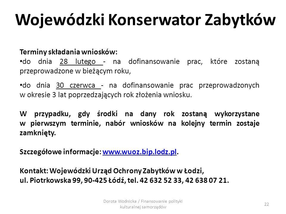 Wojewódzki Konserwator Zabytków
