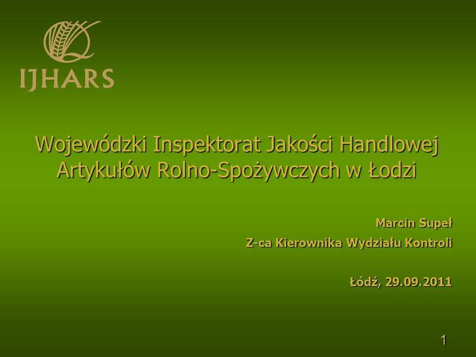 Marcin Supeł Z-ca Kierownika Wydziału Kontroli Łódź, 29.09.2011