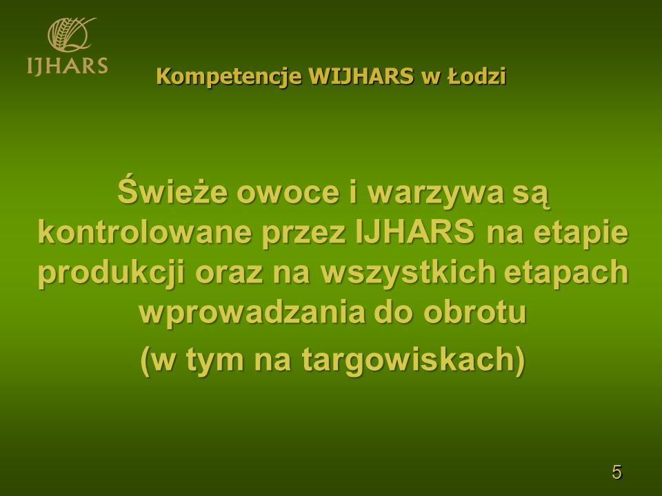 Kompetencje WIJHARS w Łodzi