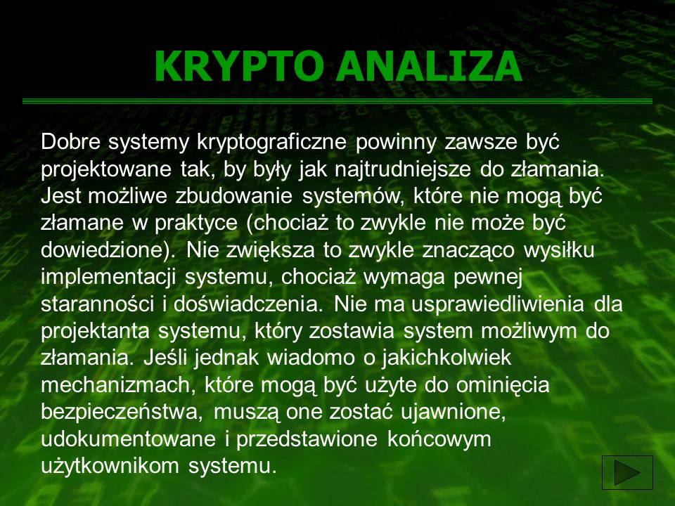 KRYPTO ANALIZA