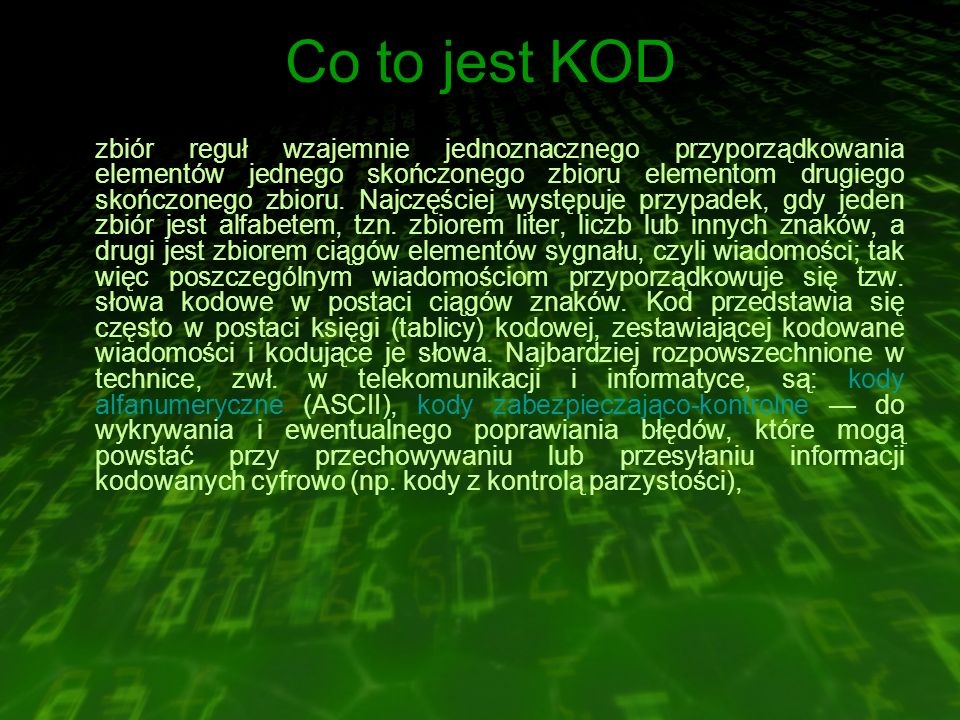Co to jest KOD